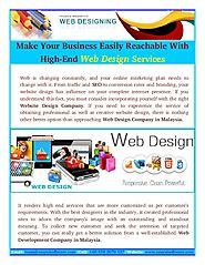 Get A Better Web Solution from Web Design Company Malaysia