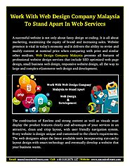 Features Of Professional Website Design Services