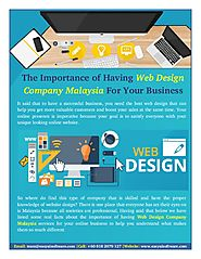 You Need The Best Web Design Company in Malaysia
