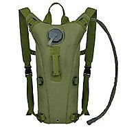 Vbiger Hydration Pack with 3L Bladder Water Bag Great for Hunting Climbing Running and Hiking
