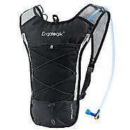 ErgaLogik Gravity 70 UltraLight 2L Hydration Pack - Great for Running, Hiking, Cycling and Skiing