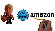 DONALD TRUMP BOBBLEHEAD ON AMAZON NOW