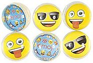 Party Favors Emoji Bounce Ball
