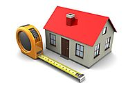 How to measure the total built up area of a house