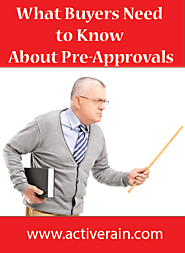 What Buyers Need to Know about Pre-Approvals