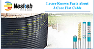 Lesser Known Facts About 3 Core Submersible Flat Cable