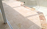Marble Pool Deck - Travertine Warehouse