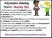 Best Adjustable Gaming Chairs Reviews - Tackk