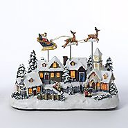 Battery Operated Christmas Village - Christmas Decorating Fun