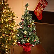 Battery Operated Christmas Tree - Christmas Decorating Fun