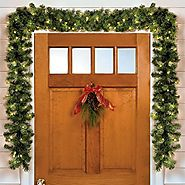 Battery Operated Christmas Garland - Christmas Decorating Fun