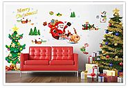 Christmas Wall Decals - Christmas Decorating Fun