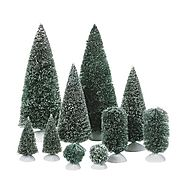 Bottle Brush Christmas Trees - Christmas Decorating Fun