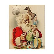 Vintage Christmas Art - Christmas Decorating Fun