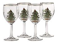 Christmas Wine Glasses - Christmas Decorating Fun