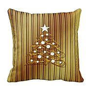 Christmas Tree Throw Pillows - Christmas Decorating Fun