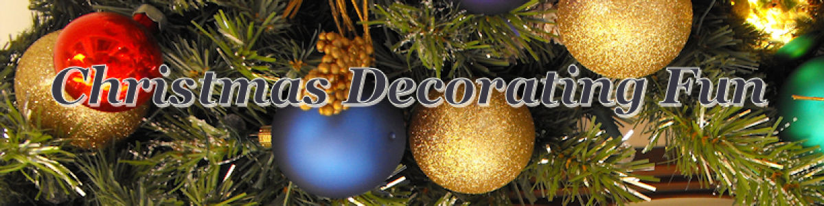 Headline for Christmas Home Decorating Fun