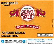 Amazon Great Indian Festival Sale 01-5 OCT- 2016 - Extra 10% Cashback Offer - Amazon India Deals - Sitaphal.com | 17-...