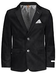 Get Standard Look By Wearing Mens Black Velvet Blazer