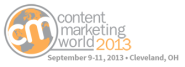 Content Marketing World 2013