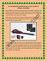 For Technologically Upgraded and Best in Class Security Use Liftmaster LA412PKGU!