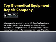 Top Biomedical Equipment Repair Company