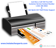 Call Dell Printer Support Phone Number +1–844–305–0563 for Instant Solutions
