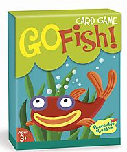Peaceable Kingdom Go Fish! Card Game (Ages 3 and up)