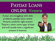 Payday loans Online Victoria - Handle Your Financial Evils With Smartly - PdfSR.com