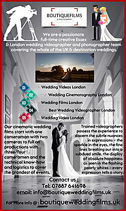 Wedding Cinematography London