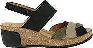 El Naturalista Women's Leaves 5008 Wedges – Model Shoe Renew