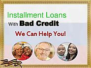Installment Loans With Bad Credit – Obtain Cash Advance For Canadian …