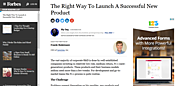 Article: Right Way to Launch