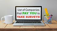 List of Companies that PAY YOU to take surveys. | Cats in the Cradle Blog