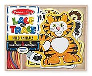 Melissa & Doug Lace and Trace Wild Animals - Ages 3-5