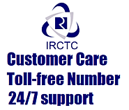 Railway toll free customer care no