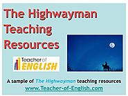 The Highwayman teaching resources - Powerpoint and worksheets