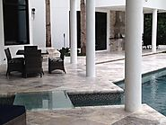 Marble Silver Pavers Available At Stone-Mart Adds Startling Beauty To Your Pool