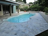 Silver Tumbled Paver Travertine Paver From Stone-Mart