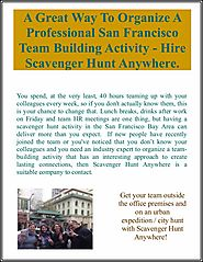 A Great Way To Organize A Professional San Francisco Team Building Activity - Hire Scavenger Hunt Anywhere.