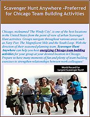 Scavenger Hunt Anywhere –Preferred for Chicago Team Building Activities
