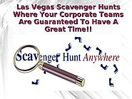 Las Vegas Scavenger Hunts Where Your Corporate Teams Are Guaranteed T…