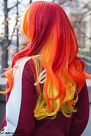 Do you think that you are suitable for bright color hair extension?