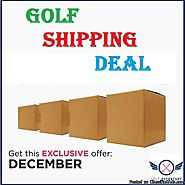 December Best Deal On Golf Shipping