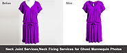 Neck Joint Services | Neck Adding Services | Neck Fixing Services | Ghost Mannequin Removal in Photoshop