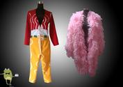 One Piece Shichibukai Donquixote Doflamingo Cosplay Costume