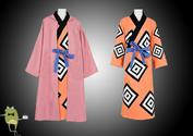 One Piece Knight of the Sea Jinbei Cosplay Costume Coat