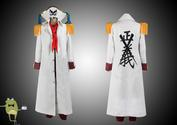 One Piece Buggy Marineford Coat Cosplay Costume