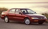 1996 Honda Accord - 52,244 Stolen