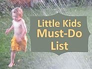 The 4-6 Year Olds Must Do List - Creative With Kids